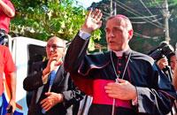 Estancia en el Valle de los Caídos del Nuncio de S.S. en Guatemala