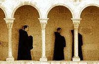 Visita del Noviciado de Silos a la Abadía del Valle de los Caídos
