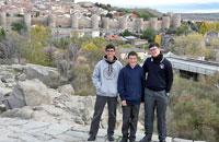 Retiros y visitas culturales de los escolanos de 4º de ESO del Valle de los Caídos