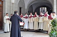 Encuentros de Nova Schola y Camerata Benedictina. Schola Antiqua