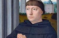 Ingreso de un nuevo postulante en la Abadía del Valle de los Caídos